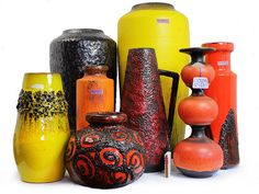 West German Lava Pottery