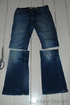 upcycled jeans project (3)