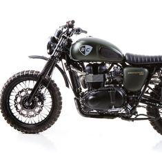 The Dirt Bike by British Customs - scrambler #motorcycle #motorbike
