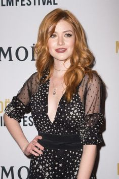 Actress Katherine McNamara attends the 2nd Annual Moet Moment Film Festival and Kick Off of Golden Globes Week at Doheny Room on January 4, 2017 in West Hollywood, California.