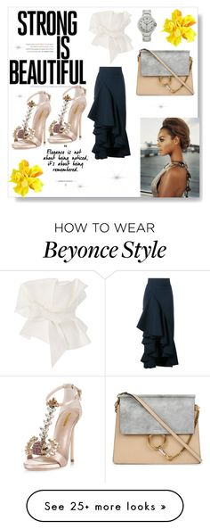 """""""Beyonce Inspired"""" by patiiencee on Polyvore featuring Johanna Ortiz, Awake, Dsquared2 and Chloé"""