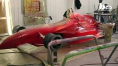 Artist Rebuilds A Street Legal IndyCar: An artist is turning heads behind the…