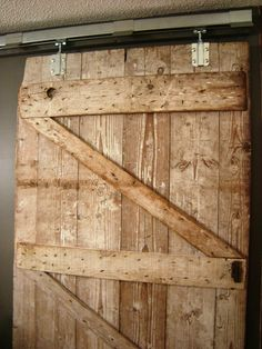 we are putting an old  barn door on our masterbath this weekend!