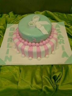 Polo shower cake