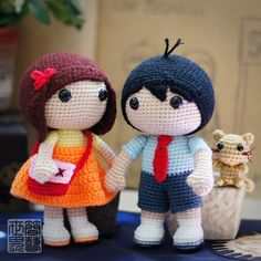 Love Story | More than Crochet Dolls (coming soon) » saplanet originals™