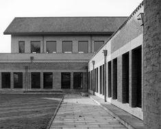 Monk-architect Dom Hans van der Laan : Abdij Sint Benedictusberg (Abbey St. Benedict Berg) Vaals NL