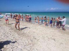 NRG2GO zumba fun in Cuba
