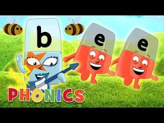 Phonics - ABC Adventures | Learn to Read with the Alphablocks - YouTube Phonics Sounds, Spelling Bee, Phonics Worksheets, Writing Words, Learn To Read, Kindergarten, Learning, Articles, Internet