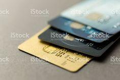 Cartões de crédito foto royalty-free