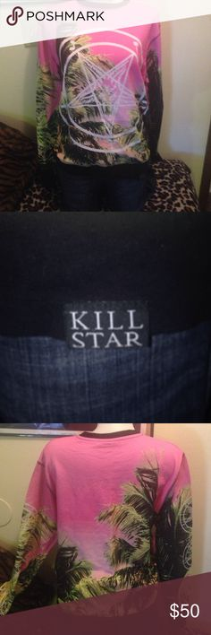 🚨🚫SOLD🚫🚨 Sold on a local site. killstar Tops Sweatshirts & Hoodies