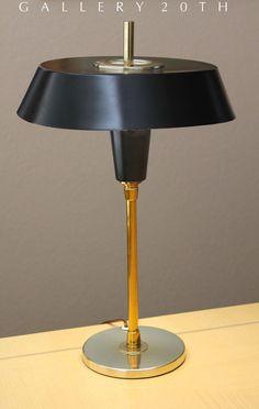 EPIC! Mid Century Modern NESSEN Desk Lamp! Extremely RareLightolier Laurel Knoll Eames Vintage 50s Fluorescent Atomic Sputnik Gallery 20th