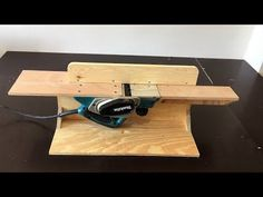 (213) Making a  Bench Top Jointer - Planya Tezgahı Yapımı - YouTube