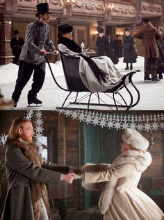 Winter wear Anna Karenina style