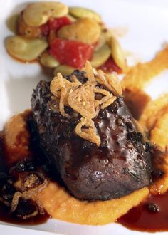Elk is quite delicious is prepared properly. Marinated in a red wine mixture and grilled to perfection, these elk steaks are truly a must try for lovers of game meats.