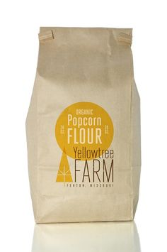 This paper bag is an identity developed for a local organic farm.