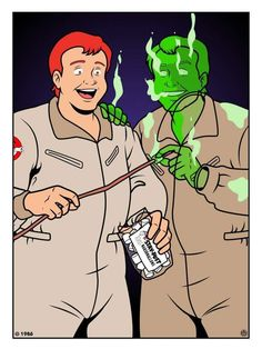 Ray The Real Ghostbusters