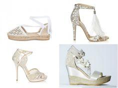 10 sapatos de noiva para casamento na praia