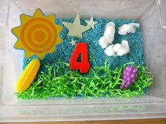 Finding the Teachable Moments: Tot School! Week 1 - Sun