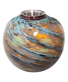 Loving this Colorful Swirls Firepot on #zulily! #zulilyfinds