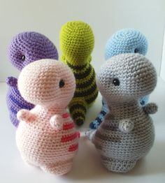 Crochet Pattern: Timothy the T-Rex by BluephoneStudios on Etsy