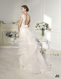 Novia D'Art 2014. Lovely wedding dress! Sharing from The Louvre Bridal (www.thelouvrebridal.com)