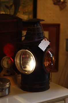 another view of the railroad lantern @capemayWEG