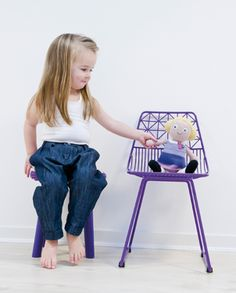 SEBRA KIDS CHAIR