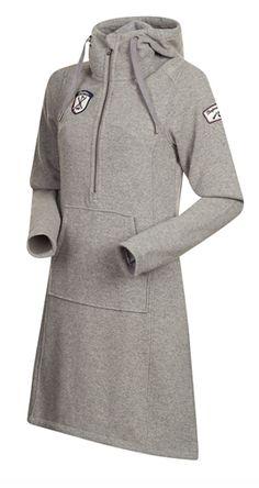 Hos ylle.net kan du köpa - Bergans Kollen Wool Lady Dress Light Grey Melange