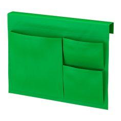 STICKAT Betttasche IKEA Praktische Aufbewahrungslösung, die sich an die Kanten der Kinderbetten von IKEA anhängen lässt.