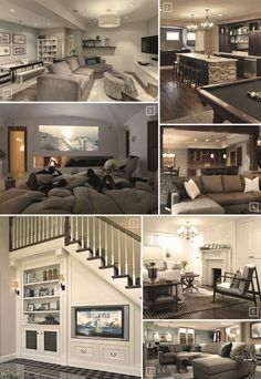 Turning a Basement Into A Family Room: Designs & Ideas | Home Tree Atlas