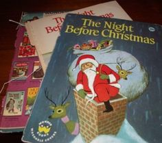 """Listen to """"The Night Before Christmas"""" and follow along with the text."""
