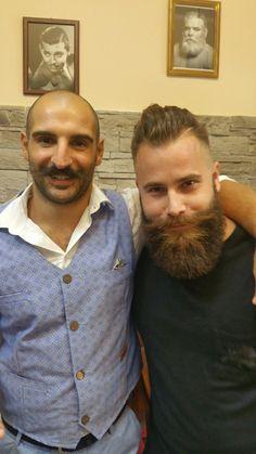 .#mustache #beard #cerebro_beard #Sassari #barber#vintage
