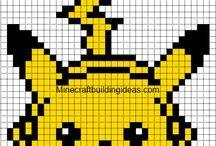 knitting chart pokemon - Google-haku