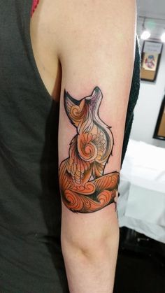 This cute fox was done by Vlad Octavian of Old London Road Tattoos. For bookings please call 0208 549 4705, email oldlondonroadtattoos@yahoo.co.uk or pop into the studio to book. Cheers