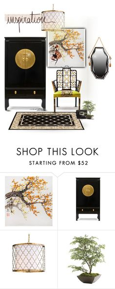 INSPIRATION Chinoiserie chair by luckied99 on Polyvore featuring interior, interiors, interior design, home, home decor, interior decorating, Orchid, Motif Designs and Ethan Allen
