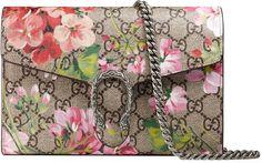 Dionysus Blooms print mini chain bag