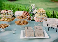 afternoon or morning tea option with thank - you goodies bags also we can make excellent home made stands with plates and glasses for the 2 hand shops