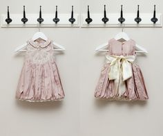Pink and Grey: Brooklyn Dress