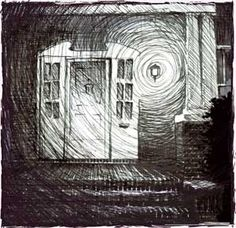 One Tree Hill Peyton Sawyer's art - Why can't I draw like this! It has a really strong emotional feeling to it