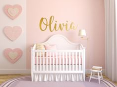 How cute would this Custom Wall Decal be in a nursery?!