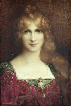 Elisabeth Sonrel (1874-1953) - A young lady