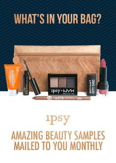 Get 5 personalized beauty products & a cute makeup bag for $10/mo.  It's like having 12 birthday gifts a year. Members receive 70% off new makeup products. Subscribe now!