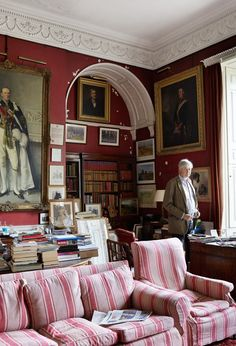 Georgia Beaufort Takes Us Inside Her Storied English Estate, Badminton House Country Style Homes, Country Houses, English Style, Small Dining, Pearl Harbor, Somerset, Decoration, Interior Design, Living Room