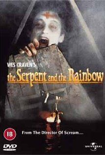 The Serpent and the Rainbow -- An anthropologist goes to Haiti after hearing rumors about a drug used by black magic practitioners to turn people into zombies.