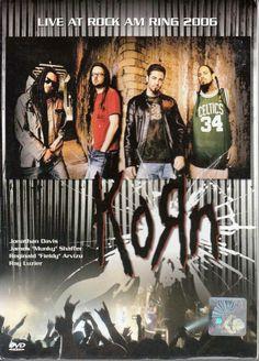 KORN Live At Rock Am Ring 2006 Nurburg Germany DVD NEW NTSC PAL Region All
