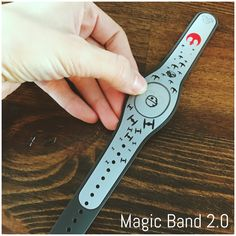 New Magic Band 2 0 Decals Ariel The Little Mermaid