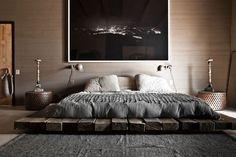 Explore Best Outstanding Low Height and Floor Bed Design Ideas at The Architecture Design. Visit for more images about Low height floor bed design ideas. Deco Design, Design Case, Design Moderne, Design Design, Custom Design, Diy Bett, Suites, Home Decor Bedroom, Bedroom Ideas