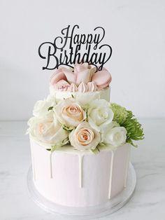 Happy Birthday Flower Cake, Happy Birthday Drinks, Funny Happy Birthday Song, Free Happy Birthday Cards, Happy Birthday Greetings Friends, Happy Birthday Wishes Photos, Birthday Wishes Flowers, Special Birthday Cakes, Happy Birthday Wishes Images