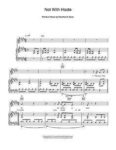 mumford and sons not with haste lyrics - Google Search