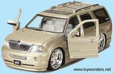 Jada Toys Dub City Trucks | Jada Toys Dub City - Lincoln Navigator (2003, 1/24 scale diecast model ...